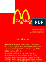 Trabajo Mc Donald's final ppt