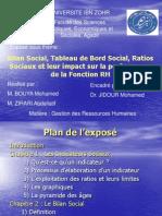 Bilan Social Tab de Bord Social Et Leur Impact Sur La RH