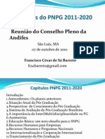 Francisco Cesar de Sa Barreto - Diretrizes PNPG
