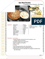 ISKCON desire tree -One Meal Paratha