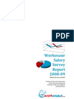 Workosaur Salary Survey Report 2008-09
