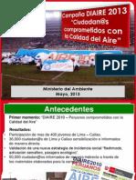 Campaña Calidad del Aire 2013