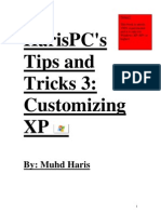 HarisPC Tips and Tricks Customizing XP