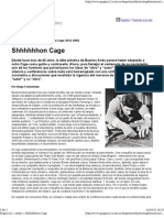 Un Megahomenaje a John Cage (1912-1992)