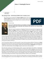 Prof G. Lewis Jarring Lecture on Turkish