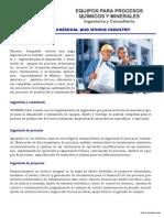 Centrífugas, secadores-enfriadores para la industria en Hispano América