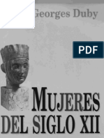 Mujeres Siglo XII