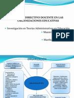 Rol Del Directivo Docente en Las Organizaciones