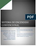 Sistema de Encendido Convencional