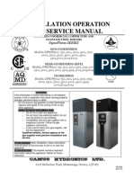 Installation Operation and Service Manual - DynaFlame