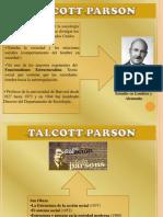 Sociedad Desde La Perspectiva de Talcott Parson