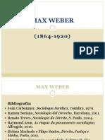 Sumário 8 Max Weber (1)