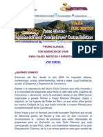 Promo Alianza Viaje Peru Con Agencias de Viaje