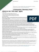 Germany's reform needed