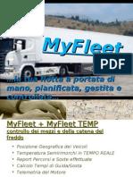 Presentazione MyFleet Catena Freddo