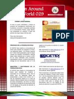 Boletín Around The World N° 029