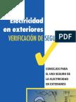 Consejos Para El Uso de Electricidad en Exteriores (Seguridad)