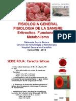 serie roja fisiología sangre