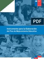 Instrumento Para La Elaboracion Del PME Formulario
