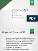 Protocolo SIP - Diego Urquiola