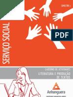 Cead 20131 Servico Social Pr - Servico Social - Leitura e Producao de Texto - Nr (a2ead166) Caderno de Atividades Impressao Sso Leitura e Producao de Textos