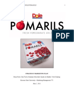 DOLE Pomarils Strategic Marketing Plan