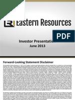 ESRI Investor Presentation