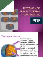 Tectónica de Placas y deriva continental