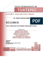 PROCESO DEL DISEÑO ORGANIZACIONAL
