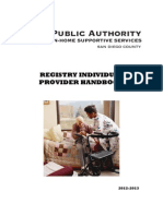IHHS Of California ,  (in home household services) 