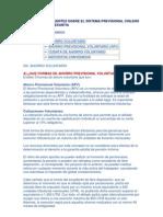 Preguntas Frecuentes Sobre El Sistema Previsional Chileno y El Seguro de Cesantia