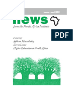 News From the Nordic Africa Institute Number 2 May 2002