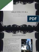 Presentación Arquitectura