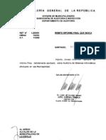 Municipalidad de Informe Final Auditoria de Sistemas Informaticos