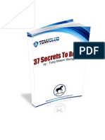 37 Secrets to Be Rich