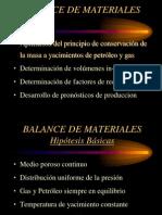 balancede materiales