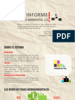Primer informe activismo ambiental 2.0
