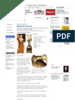 Bracelete de couro - Moda, Beleza, Estilo, Customizaçao e Receitas - Manequim - Editora Abril