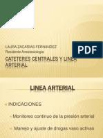 CATETERES CENTRALES Y LINEA ARTERIAL.pptx