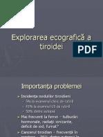 Curs Tiroida
