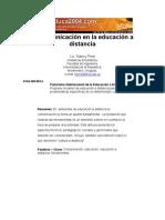Panorama internacional de la Educación a Distancia