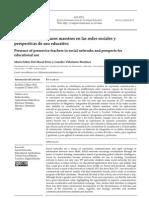 Presencia Futuros Maestros en Redes Sociales
