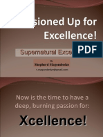 Passioned Up for Excellence!