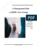 Project Managment Plan