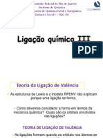 05- Ligação Química III - IQG111