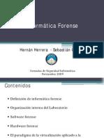 Informatica Forense - Hernan Herrera
