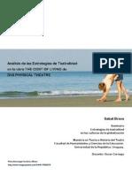 Análisis de las Estrategias de Teatralidad en la obra THE COST OF LIVING de DV8 PHYSICAL THEATRE