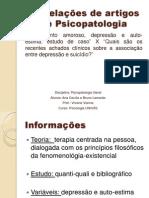 Correlações de artigos de Psicopatologia