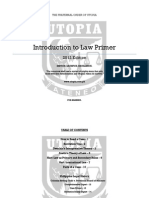 Utopia 2013 Introduction to Law Primer