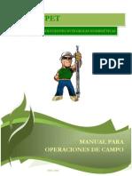 Manual Para Operaciones de Campo Sertecpet